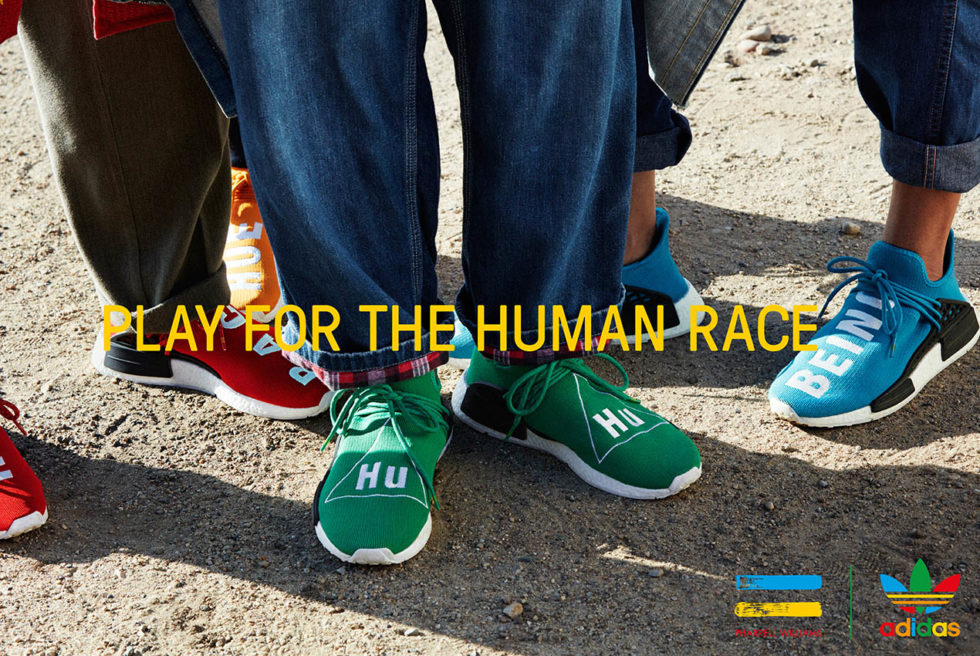 "Pharrell & adidas Originals's Colorful ""Hu"" Collection. (Foto: ®Reprodução)"