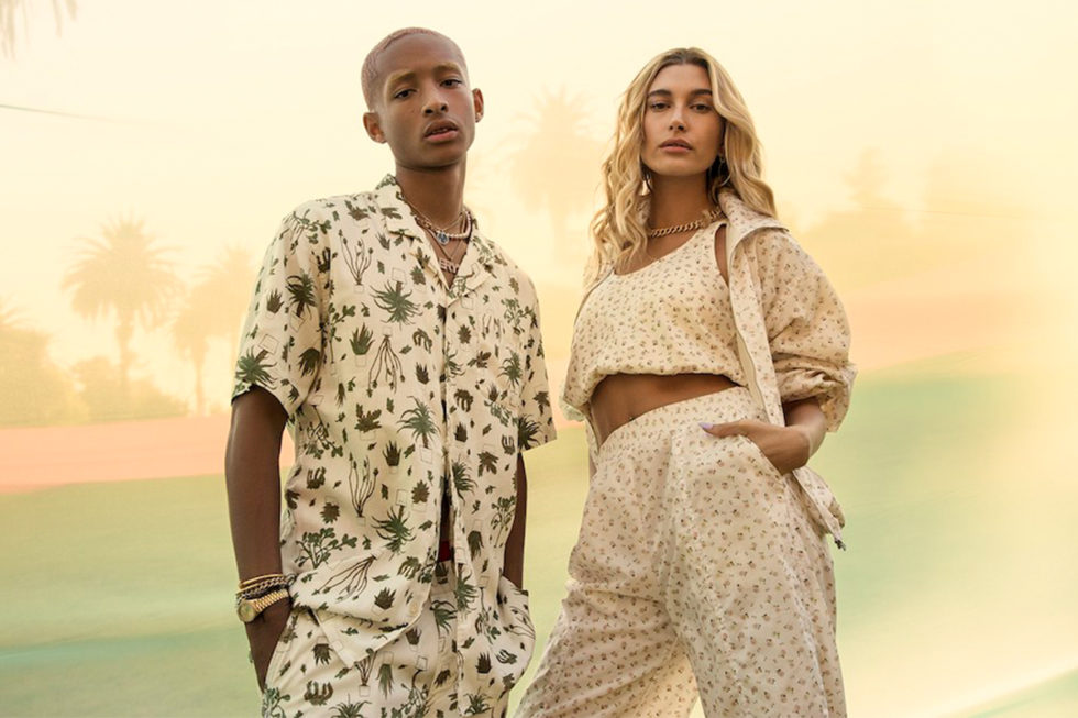 Jaden Smith e Hailey Bieber para Levi's